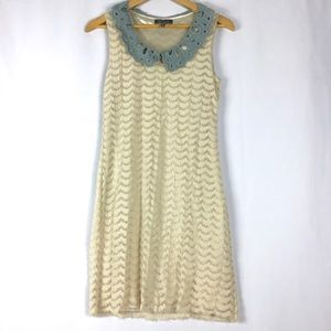 Garcia Collar Lace Dress Made in Korea